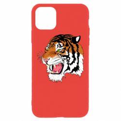 Чохол для iPhone 11 Tiger roars