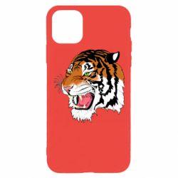 Чохол для iPhone 11 Pro Tiger roars
