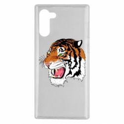 Чохол для Samsung Note 10 Tiger roars