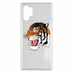 Чохол для Samsung Note 10 Plus Tiger roars