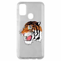 Чохол для Samsung M30s Tiger roars