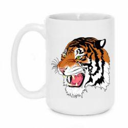 Кружка 420ml Tiger roars