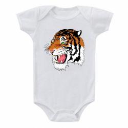 Дитячий бодік Tiger roars