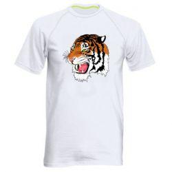 Чоловіча спортивна футболка Tiger roars