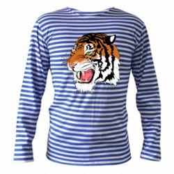 Тільник з довгим рукавом Tiger roars