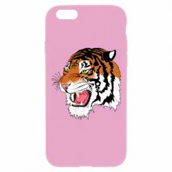 Чохол для iPhone 6 Plus/6S Plus Tiger roars