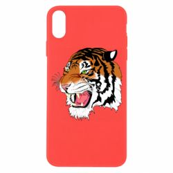 Чохол для iPhone X/Xs Tiger roars
