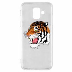 Чохол для Samsung A6 2018 Tiger roars