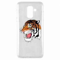 Чохол для Samsung A6+ 2018 Tiger roars