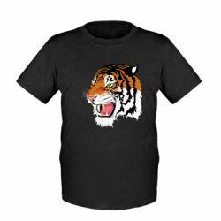 Дитяча футболка Tiger roars