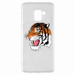 Чохол для Samsung A8+ 2018 Tiger roars