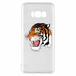 Чохол для Samsung S8 Tiger roars