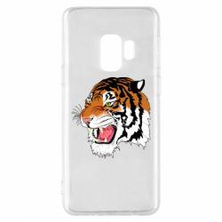 Чохол для Samsung S9 Tiger roars