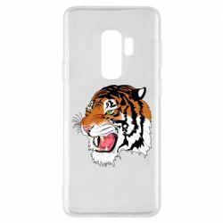 Чохол для Samsung S9+ Tiger roars