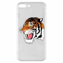 Чохол для iPhone 8 Plus Tiger roars