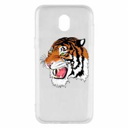 Чохол для Samsung J5 2017 Tiger roars