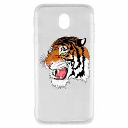 Чохол для Samsung J7 2017 Tiger roars