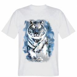 Мужская футболка Tiger watercolor