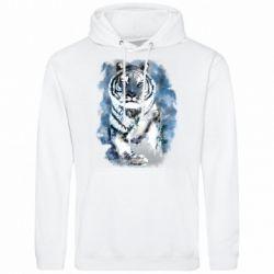 Мужская толстовка Tiger watercolor