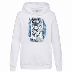 Женская толстовка Tiger watercolor