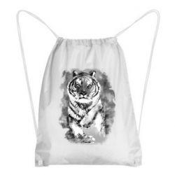 Рюкзак-мешок Tiger watercolor