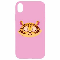 Чохол для iPhone XR Tiger with a smile