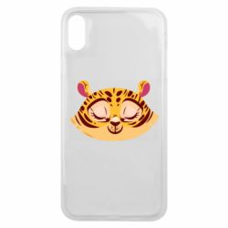 Чохол для iPhone Xs Max Tiger with a smile
