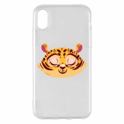Чохол для iPhone X/Xs Tiger with a smile