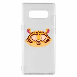 Чохол для Samsung Note 8 Tiger with a smile