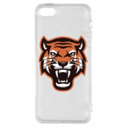 Чохол для iphone 5/5S/SE Tiger