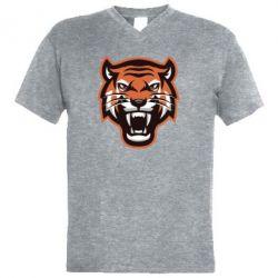 Чоловіча футболка з V-подібним вирізом Tiger