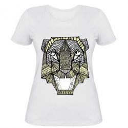 Жіноча футболка Тигр арт