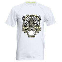 Чоловіча спортивна футболка Тигр арт