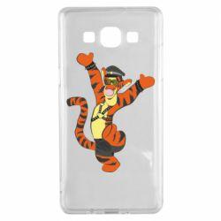 Чехол для Samsung A5 2015 Тигра темный властелин