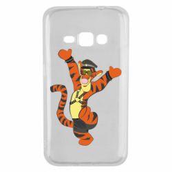 Чехол для Samsung J1 2016 Тигра темный властелин