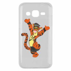Чехол для Samsung J2 2015 Тигра темный властелин
