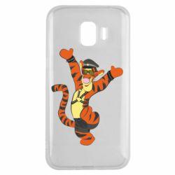 Чехол для Samsung J2 2018 Тигра темный властелин