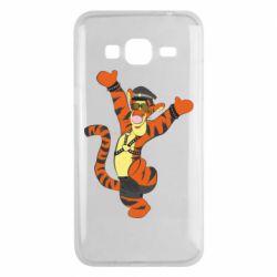 Чехол для Samsung J3 2016 Тигра темный властелин