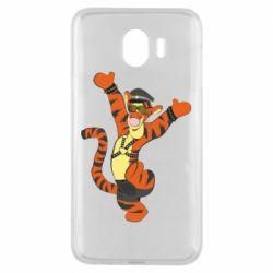 Чехол для Samsung J4 Тигра темный властелин