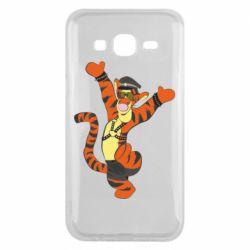 Чехол для Samsung J5 2015 Тигра темный властелин