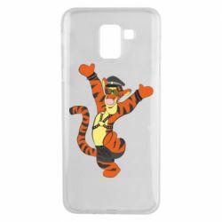 Чехол для Samsung J6 Тигра темный властелин