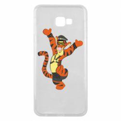 Чехол для Samsung J4 Plus 2018 Тигра темный властелин