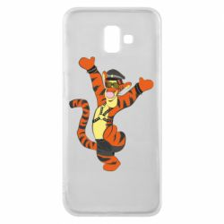 Чехол для Samsung J6 Plus 2018 Тигра темный властелин