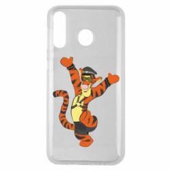 Чехол для Samsung M30 Тигра темный властелин