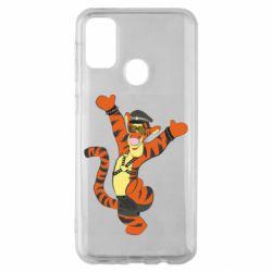 Чехол для Samsung M30s Тигра темный властелин