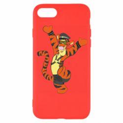 Чехол для iPhone 7 Тигра темный властелин