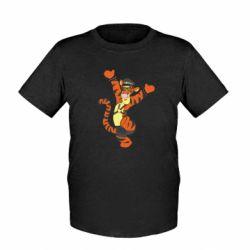 Детская футболка Тигра темный властелин