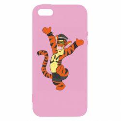 Чехол для iPhone5/5S/SE Тигра темный властелин