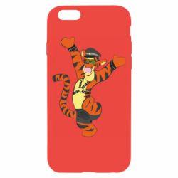Чехол для iPhone 6/6S Тигра темный властелин