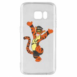 Чехол для Samsung S7 Тигра темный властелин